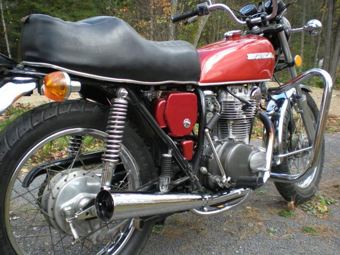 1975 Honda CB360T - AWESOME BIKE