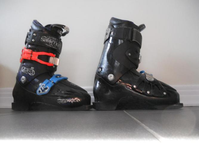 2013 Salomon Ghost 90 ski boots