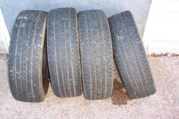 4 Goodyear Tires