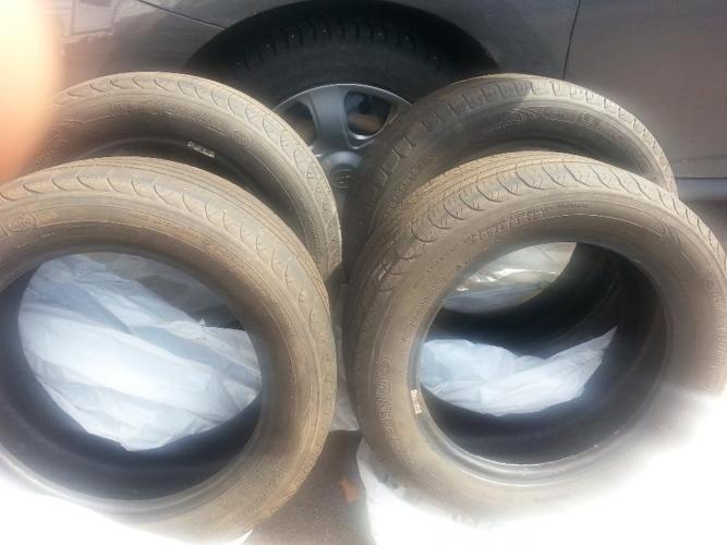 4 Michelin tires for Toyota Matrix. 205/56/r16