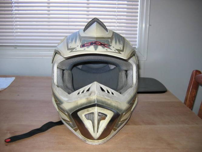 CKX Motocross prototype helmet