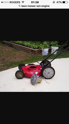 FREE:  Looking for a free dead lawnmower