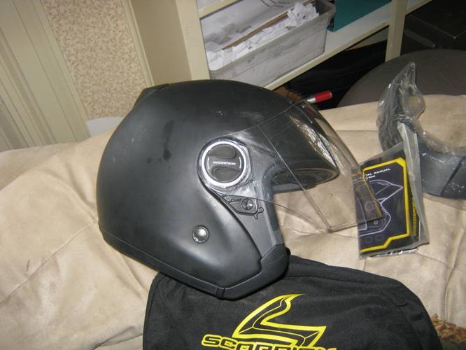 motorcycle helmet, small/medium