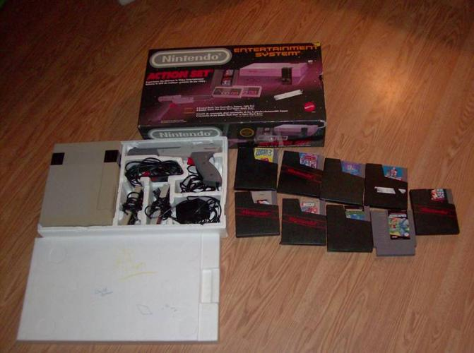 Nintendo Entertainment System (1988) And Games
