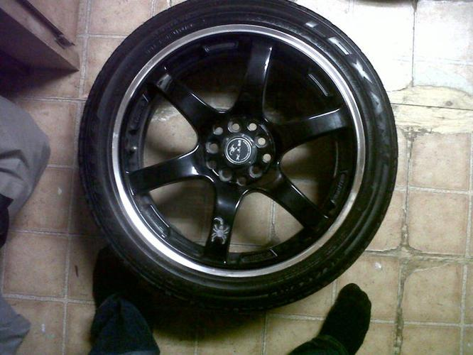 Scorpion 17 inch rims, PRICE DROPPED