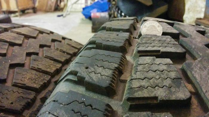 Two Pair of Winter Tires - 245/70R17