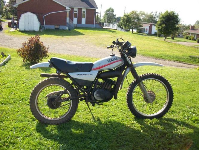 Two Yamaha 175's