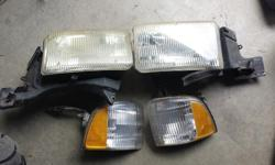 1996 dodge ram front headlight and parking lights. Awesome shape. If yours are discoloured and yellow then you need these. $60 obo
