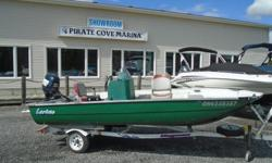 1997 Larivee 15' Center Console - US549 Description: Well it ain't too pretty but it runs great and beats fishing from shore!! This Canadian made fiberglass boat is powered by a 1999 50 hp 4 stroke Evinrude with Electronic Fuel Injection & Power Trim &