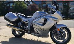 2003 Triumph Sprint ST Sport Touring $4999 Powered by the Triumph triple, 955cc, fuel-injected motor, this is a great sport touring motorcycle ready for adventure. Clean machine, safety inspected, serviced and ready to go! Colour: Silver. Buy with