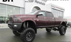 Make Ram Model 3500 Year 2012 Colour Burgundy kms 78001 Trans Manual Price: $56,779 Stock Number: P2818B VIN: 3C63D3JLXCG133349 Interior Colour: Black Engine: 6.7L I6 Cummins Turbo Diesel Fuel: Diesel Leather Seats, Sunroof, Vented/Cooled Seats, Driver's