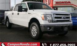 Make Ford Model F-150 Year 2014 Colour White kms 170800 Trans Automatic Price: $19,300 Stock Number: 18-0287A VIN: 1FTVW1EF8EKD35106 Interior Colour: Grey Cylinders: 8 Fuel: Regular Unleaded No Accidents, Bluetooth, Alloy Wheels, Air Conditioning, Keyless