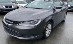 Make Chrysler Model 200 Year 2015 Colour Grey kms 35855 Trans Automatic Price: $13,300 Stock Number: BA9698 VIN: 1C3CCCFB8FN729698 Engine: 184HP 2.4L 4 Cylinder Engine Fuel: Gasoline Low Mileage, Air Conditioning, Steering Wheel Audio Control, Power