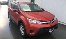 Make Toyota Model RAV4 Year 2015 Colour Barcelona Red Metallic kms 47267 Trans Automatic Price: $22,995 Stock Number: 8199 VIN: 2T3BFREV6FW306592 Interior Colour: Black Engine: 176HP 2.5L 4 Cylinder Engine Fuel: Gasoline One Owner, Non-smoker, Trade-in,