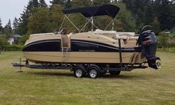 2016 CAMPION FIBERTOON with EZ LOADER TRAILER FOR SALE This rare, hard to find CAMPION 100% COMPOSITE Tri Hull FIBERTOON is luxury boating while enjoying a cruise, or towing the family on your favourite lake, or the ocean. Some of the options include: -