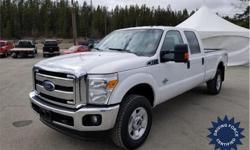 Make Ford Model F-350 Super Duty Year 2016 Colour White kms 63706 Trans Automatic Price: $49,059 Stock Number: 133924 VIN: 1FT8W3BT9GEC64812 Interior Colour: Black Cylinders: 8 - Cyl Fuel: Diesel This 2016 Ford F-350 Super Duty Crew Cab 6 Passenger 4X4
