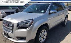 Make GMC Model Acadia Year 2016 Colour Grey kms 32439 Trans Automatic Price: $28,988 Stock Number: BA3615 VIN: 1GKKVNED3GJ113615 Engine: 281HP 3.6L V6 Cylinder Engine Fuel: Gasoline Low Mileage, 8 Passenger, Rear Air, Power Mirrors, Back Up Camera, Alloy