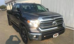 Make Toyota Model Tundra Year 2016 Colour Grey kms 42701 Trans Automatic Price: $43,999 Stock Number: 18295A VIN: 5TFUY5F17GX567962 Engine: 381HP 5.7L 8 Cylinder Engine Fuel: Gasoline One Owner, Local, Non-smoker, Trade-in, Certified, Air, Tilt, Cruise,