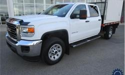 Make GMC Model Sierra 3500HD Year 2017 Colour White kms 32987 Trans Automatic Price: $48,992 Stock Number: 139113 VIN: 1GT42VCG7HF162640 Interior Colour: Black Cylinders: 8 - Cyl Fuel: Gasoline 6.0L, V8, Gas, Six Speed Heavy Duty Electronically Controlled
