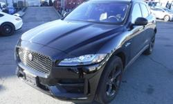 Make Jaguar Year 2018 Colour Black Trans Automatic kms 7640 Stock #: BC0030698 VIN: SADCL2EV0JA245949 2018 Jaguar F-Pace 35t R-Sport, 3.0L, 6 cylinder, 4 door, automatic, AWD, 4-Wheel AB, cruise control, air conditioning, CD player, CD changer, DVD