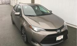 Make Toyota Model Corolla Year 2018 Colour Falcon Grey kms 12112 Trans Automatic Stock Number: 18439B VIN: 2T1BURHEXJC966932 Engine: 132HP 1.8L 4 Cylinder Engine Fuel: Gasoline One Owner, Non-smoker, Trade-in, Local, Certified, Low Mileage, Back Up