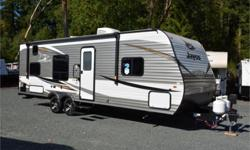 Price: $30,950 Stock Number: 964316-4309 VIN: 1UJBJ0BN4K75V0259 Interior Colour: truffle Jayco Jay Flight SLX Western Edition 264BHW travel trailer highlights: Double Size Bunks Semi-Private Bedroom J-Steel Jackknife Sofa Booth Dinette   Just imagine you