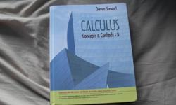 Used for calc I, II, IIIGood condition. No highlights.Pretty much the same book as the fourth edition.Both books have the exact same type of examples.This book was great for preparing for exams.