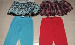 Each outfit is $10.00 each. Three quarter pants with dress to match. In very good shape. Posted with Used.ca app