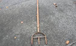 "3 Prong Lawn Aerator That Removes Core / Plugs. In good condition. ITS A HOUSE NUMBER SO DO NOT TEXT. """"DO NOT"""" CALL BEFORE 8 am. OR AFTER 9:00 pm. CASH ONLY. PICKUP ONLY VIEW MAP for general location. View poster's list for this Seller's other Items."