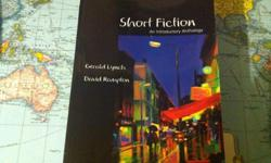 ENG 1120: Short Fiction - An into Anthology by Gerald Lynch and David Rampton