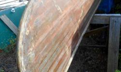 Solid 1980s (?) cedar canoe needing restoration. Can view with 24 hours notice. First $500.00 takes it.