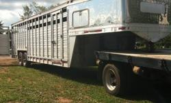 "Trailering for: - Horses, Livestock, Hay .ect - Moving horses from point ?A? to point ?B? Short Hauls - Long Hauls - 24h, Emergency Trailering is available. -cattle,pigs,goats,sheep,donkey.ect ""World Wide Service"" It is best to talk to us personally and"