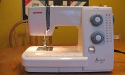 $200 obo 1yr old.  This machine retails for approximately $360.  I am selling in order to upgrade.  This is a good machine for a beginner or casual seamstress.  I have used this machine for 2 bed sized quilts as well as countless other items over the last