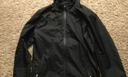Lightweight waterproof rain jacket, less than half a year old. Great jacket and fits really well. Only selling due to receiving another jacket as a gift.