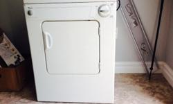 I have a stackable Apartment sized Washer/Dryer Combo (Whirlpool Brand) with the Stand included for sale for $400. I have the hoses included, along with the sink adapter. It is very easy to hook up, works excellent and is in great shape. It is energy