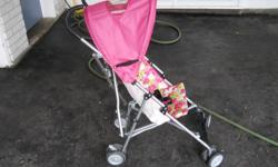 "Cosco Umbrella Stroller Lightweight frame and easy, compact fold stroller. $30.00 OBO Mutsy Easygrow Highchair. Fully adjustable high chair that grows with your child; Foot rest can be easily adjusted. 38"" High.. $55.00 OBO"