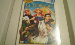 Would make a great gift! The Road to El Dorado from Dreamworks! Brand New/Sealed!